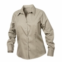 New Wave Men's Twill Shirt: 55% cotton, 45% polyester  Long Sleeve (MNW00003)
