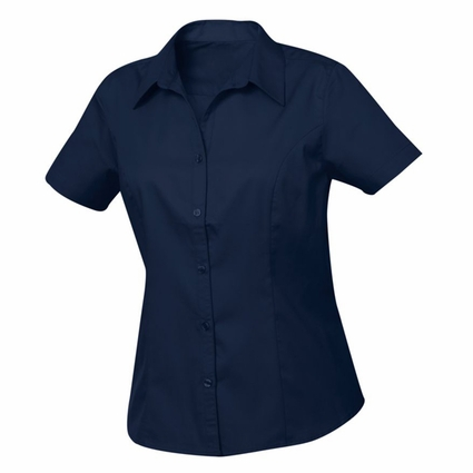 New Wave Women's Twill Shirt: 55% cotton, 45% polyester  Short Sleeve (LNW00004)