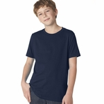 Next Level Boy's T-Shirt: 100% Combed Cotton Fine Jersey Short Sleeve Crewneck (3310)