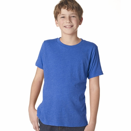 Next Level Boy's T-Shirt: Tri-Blend Short Sleeve Crewneck (N6310)