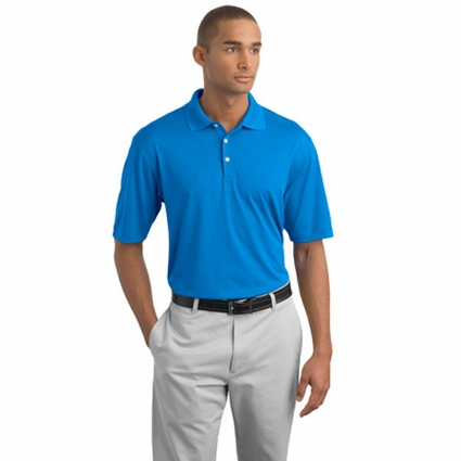 Nike Men's Polo Shirt: Dri-FIT Cross-Over Texture (349899)