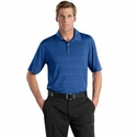 Nike Men's Polo Shirt: Elite Series Fine Line Pattern (429438)