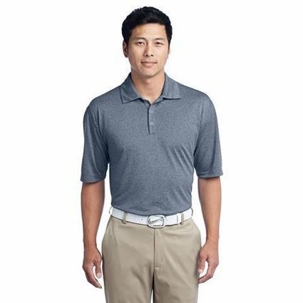 Nike Men's Polo Shirt: Heather 3 Button Dri-FIT (474231)