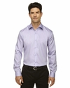 Men's Boulevard Wrinkle-Free Two-Ply 80's Cotton Dobby Taped Shirt with Oxford Twill: (88673)