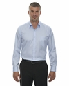 Men's Wrinkle-Free Two-Ply 80's Cotton Taped Stripe Jacquard Shirt: (88646)
