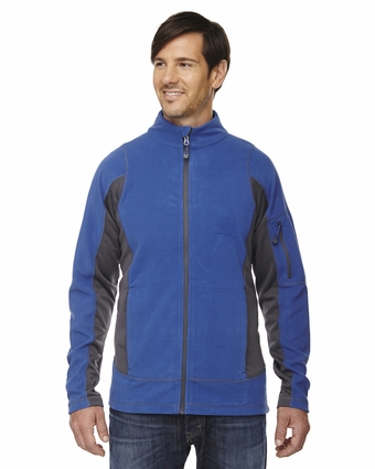 Men's Generate Textured Fleece Jacket: (88198)