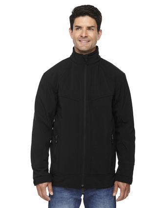 Men's Three-Layer Light Bonded Soft Shell Jacket: (88604)