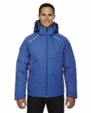 Men's Linear Insulated Jacket with Print: (88197)