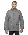 Men's Uptown Three-Layer Light Bonded City Textured Soft Shell Jacket: (88672)