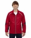 Men's Dynamo Three-Layer Lightweight Bonded Performance Hybrid Jacket: (88654)