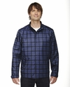 Men's Locale Lightweight City Plaid Jacket: (88671)