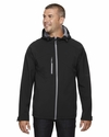 Men's Prospect Two-Layer Fleece Bonded Soft Shell Hooded Jacket: (88166)
