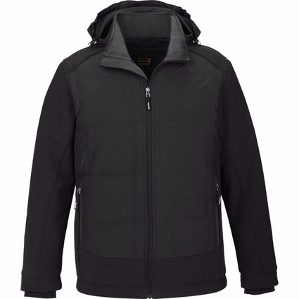 Men's Neo Insulated Hybrid Soft Shell Jacket: (88661)