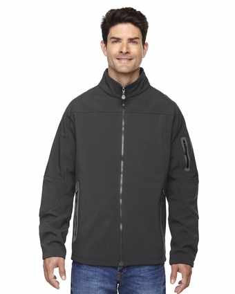 Men's Three-Layer Fleece Bonded Soft Shell Technical Jacket: (88138)