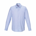 Men's Refine Wrinkle-Free Two-Ply 80's Cotton Royal Oxford Dobby Taped Shirt: (88689)