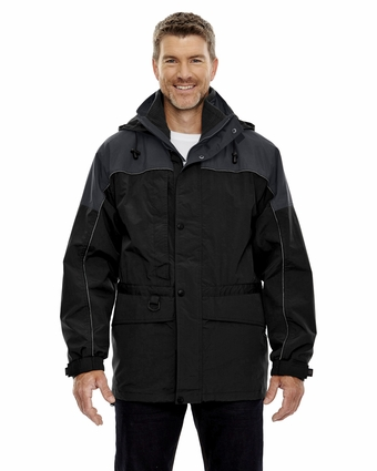 Men's 3-in-1 Two-Tone Parka: (88006)