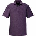 Men's Barcode Performance Stretch Polo: (88668)