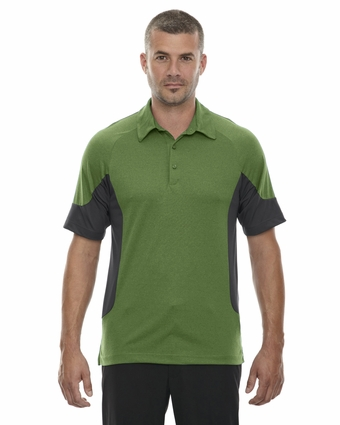 Men's Refresh UTK cool.logik™ Coffee Performance Mélange Jersey Polo: (88677)