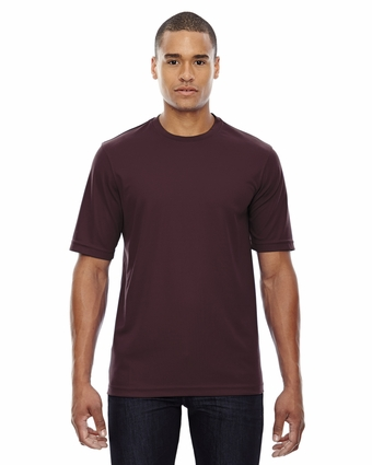 North End Men's T-Shirt: 100% Polyester Athletic Crewneck (88182)