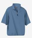Men's M·I·C·R·O Plus Lined Short-Sleeve Wind Shirt with Teflon®: (88084)
