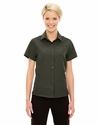 Ladies' Charge Recycled Polyester Performance Short-Sleeve Shirt: (78675)