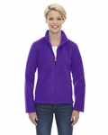 North End Women's Fleece Jacket: (78190)