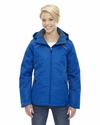Ladies' Linear Insulated Jacket with Print: (78197)