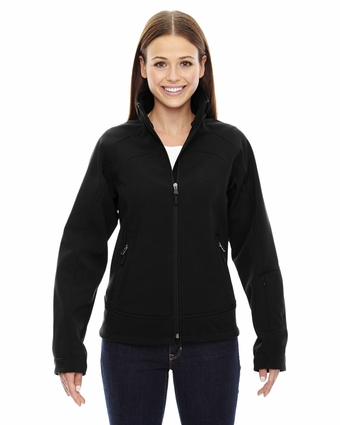 Ladies' Three-Layer Light Bonded Soft Shell Jacket: (78604)
