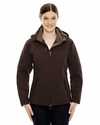 Ladies' Glacier Insulated Three-Layer Fleece Bonded Soft Shell Jacket with Detachable Hood: (78080)