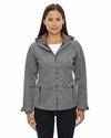 Ladies' Uptown Three-Layer Light Bonded City Textured Soft Shell Jacket: (78672)
