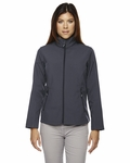 North End Women's Jacket: Full-Zip 2 Layer Soft Shell (78184)