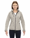 Ladies' Peak Sweater Fleece Jacket: (78669)