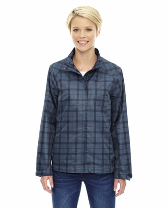 Ladies' Locale Lightweight City Plaid Jacket: (78671)
