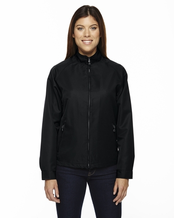 Ladies' Mid-Length Micro Twill Jacket: (78044)