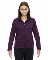 Ladies' Splice Three-Layer Light Bonded Soft Shell Jacket with Laser Welding: (78655)