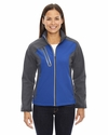 Ladies' Terrain Colorblock Soft Shell with Embossed Print: (78176)