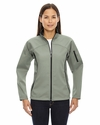 Ladies' Three-Layer Fleece Bonded Performance Soft Shell Jacket: (78034)