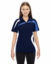 Ladies' Impact Performance Polyester Piqué Colorblock Polo: (78645)