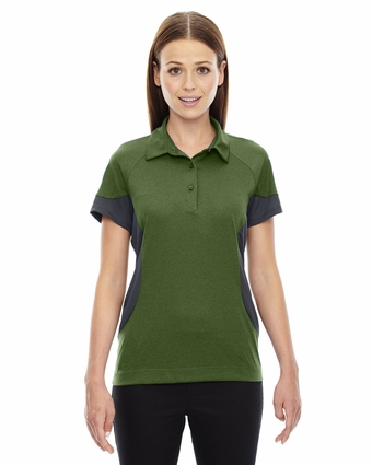 Ladies' Refresh UTK cool.logik™ Coffee Performance Mélange Jersey Polo: (78677)