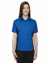Ladies' Fuse Colorblock Twill Shirt: (77042)
