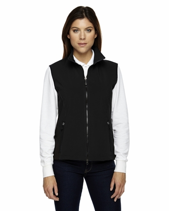 Ladies' Three-Layer Light Bonded Performance Soft Shell Vest: (78050)