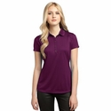 OGIO Women's Polo Shirt: 100% Polyester Sport Swoosh Pique(LOG112)