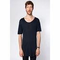 Oversized Viscose Short Sleeve Tee: (SAVC400)