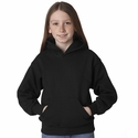 P470 Hanes Youth EcoSmart® Hooded Pullover Fleece