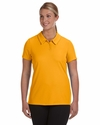 Ladies' Performance Three-Button Mesh Polo: (W1709)