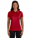 for Team 365 Ladies' Performance Three-Button Polo: (W1809)