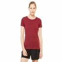 Ladies' Performance Triblend Short-Sleeve T-Shirt: (W1101)