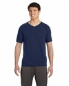 Men's Performance Triblend Short-Sleeve V-Neck T-Shirt: (M1105)