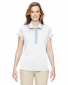 Ladies' Piped Fashion Polo: (A126)