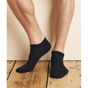 Platinum No Show Socks (Black): (GP711)